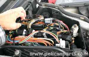 MercedesBenz SLK 230 ABS Control Module Replacement | 19982004 | Pelican Parts DIY Maintenance