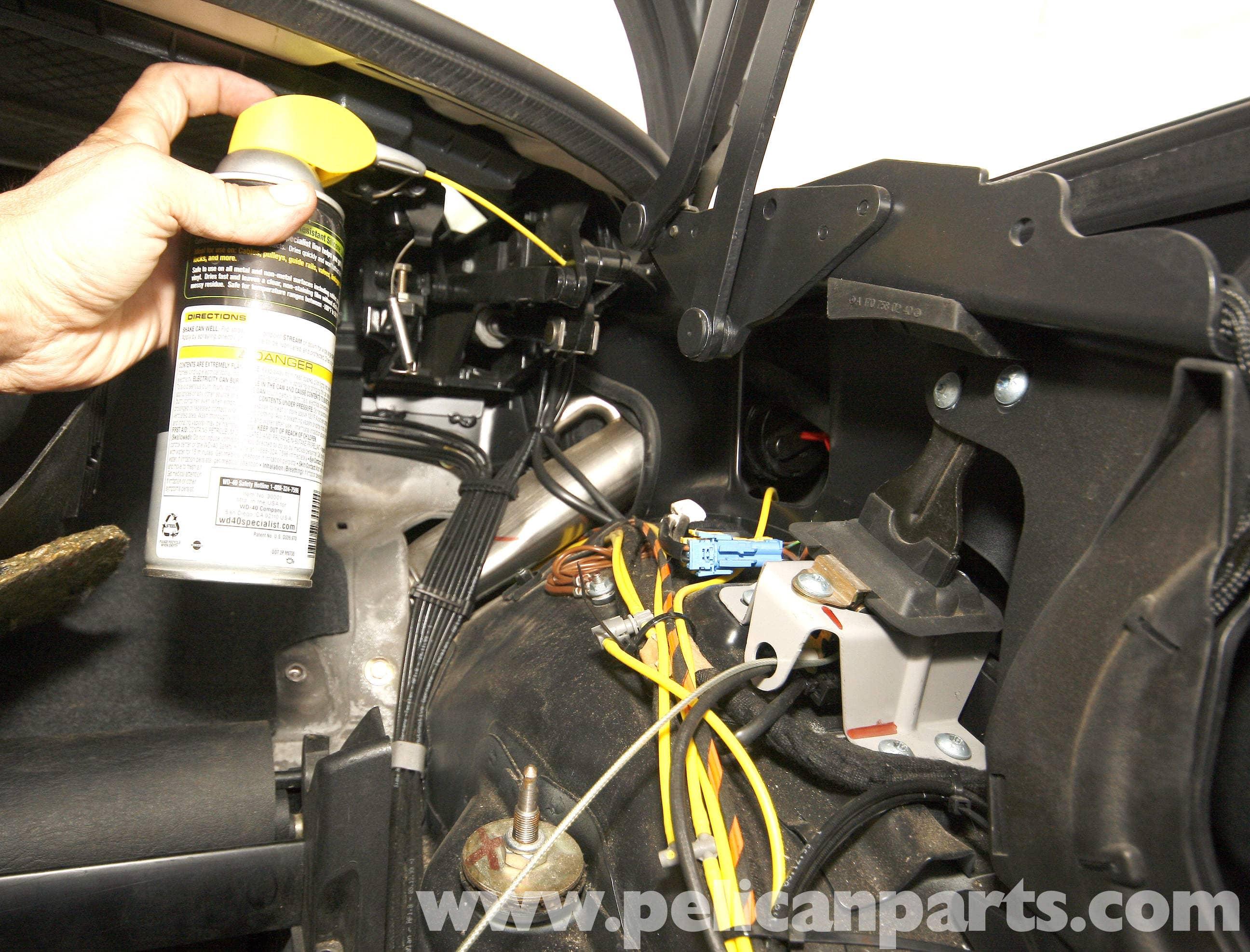 Ci Fuse Diagram Mercedes Benz Slk 230 Vario Top Hydraulic Pump Service