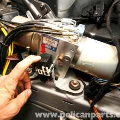 Spot Light Switch Diagram Schematic Of Nitrogen Cycle Mercedes-benz Slk 230 Vario Top Hydraulic Pump Service | 1998-2004 Pelican Parts Diy ...