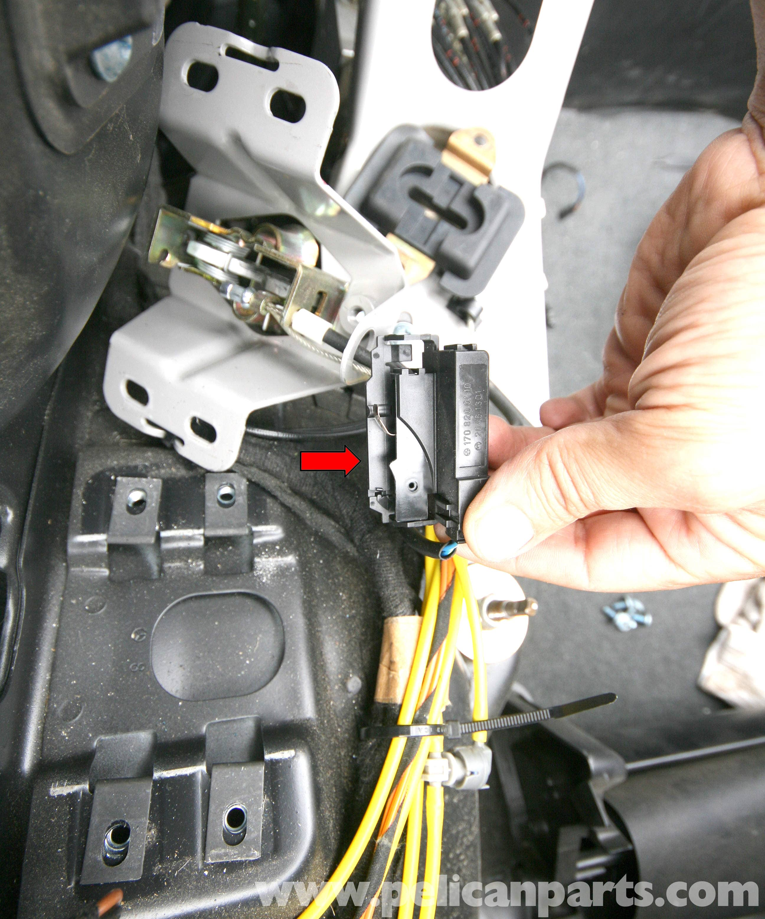 11 Flat Pin Relay Wiring Diagram Mercedes Benz Slk 230 Vario Roof Switches Location And Id
