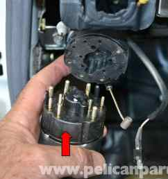 mercedes benz w124 headlight switch replacement 1986 1995 e classlarge image extra large image [ 2591 x 1728 Pixel ]