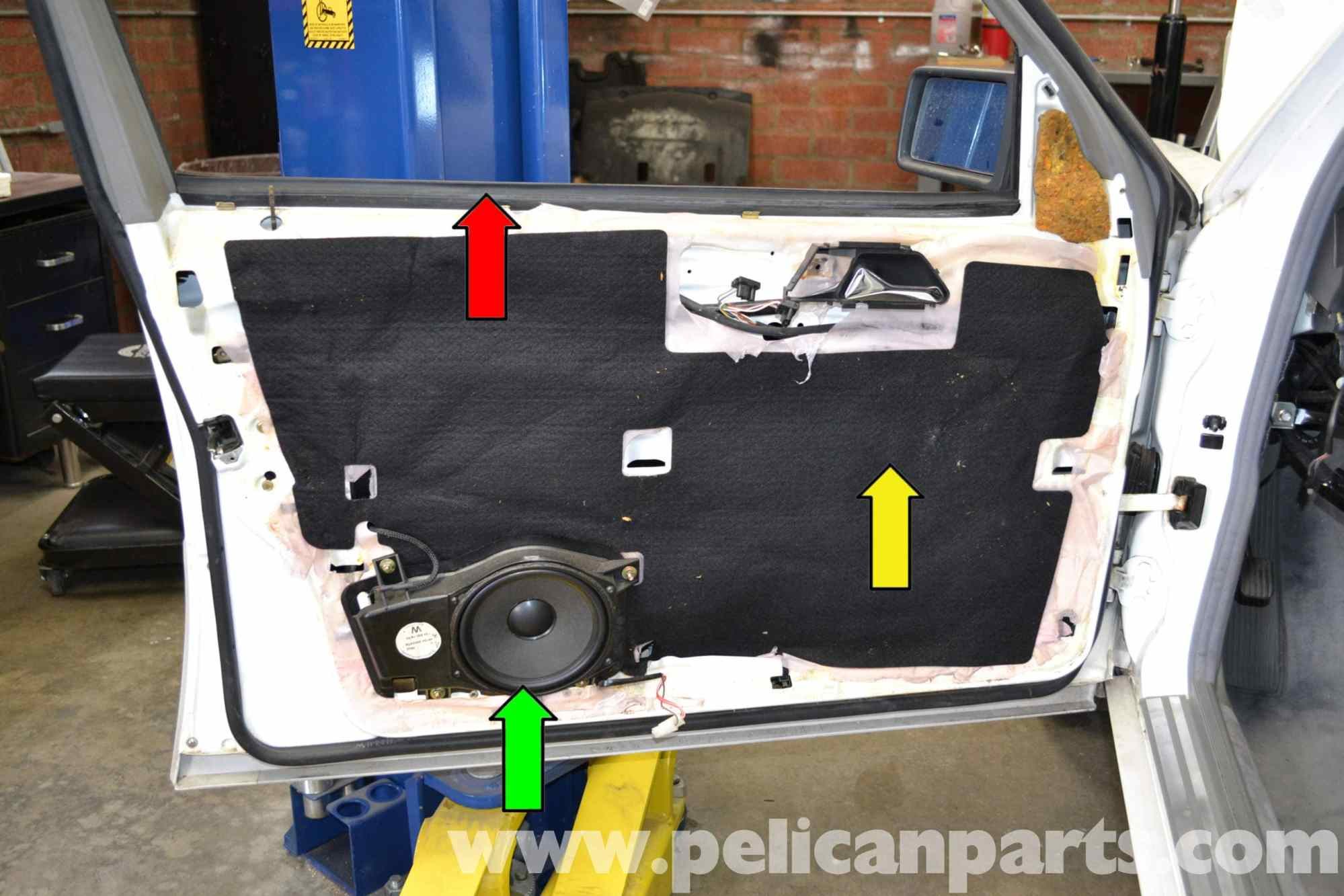 hight resolution of  w124 mercedes benz w124 front window regulator replacement 1986 1995 e on w124 exhaust w124 wiring diagram