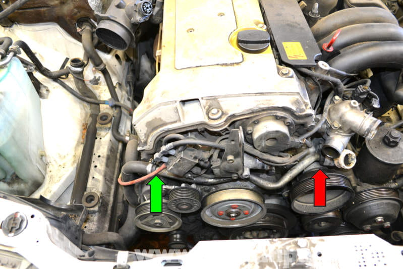 Mercedes Benz 1995 E320 Wiring Diagram Mercedes Benz W124 Coolant And Radiator Hose Replacement