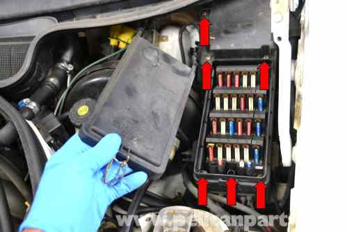 small resolution of mercedes benz w124 outside air temperature sensor replacement 1986 mercedes benz c320 fuse boxes large