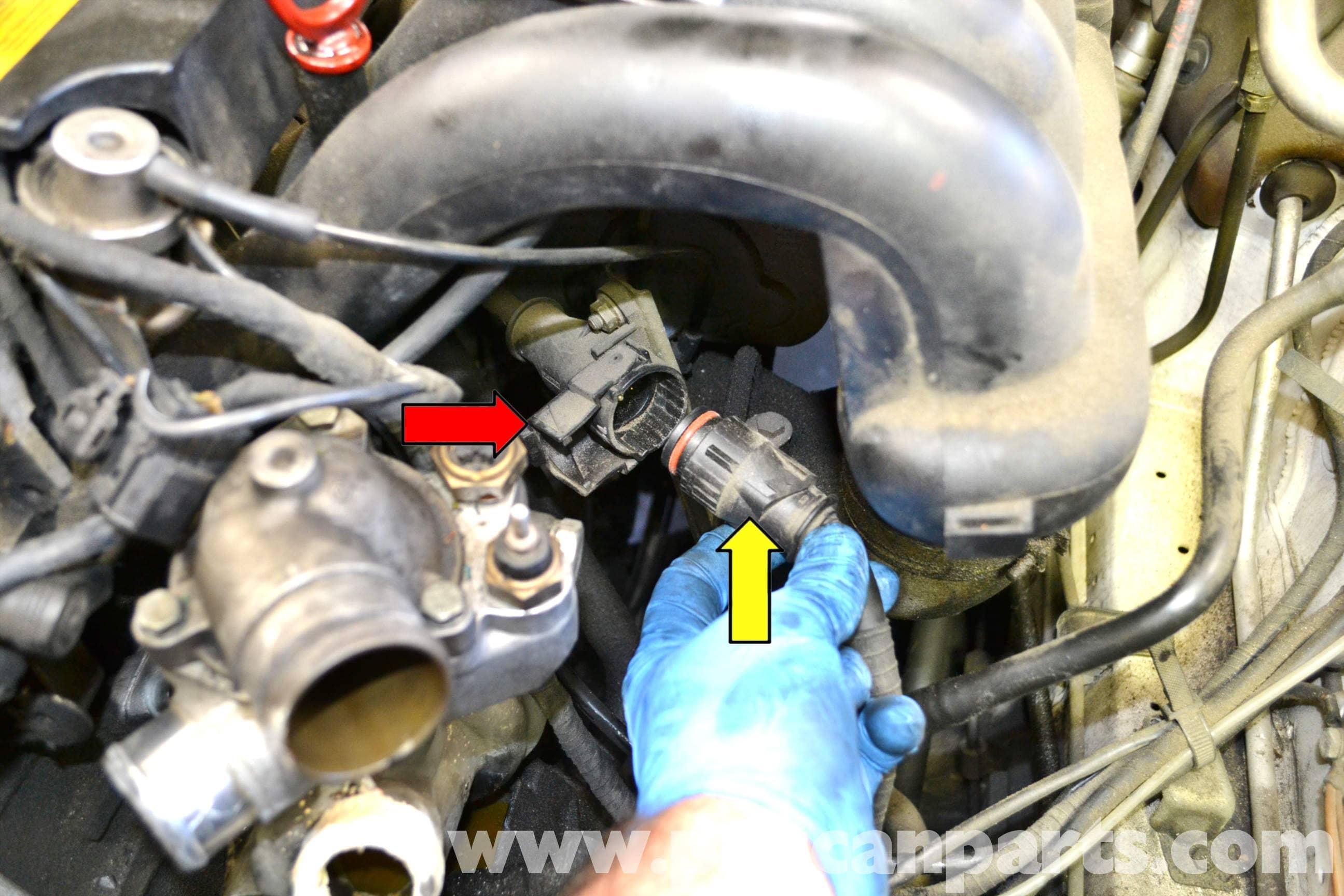 mercedes w124 abs wiring diagram bazooka el series benz water pump replacement 1986 1995 e
