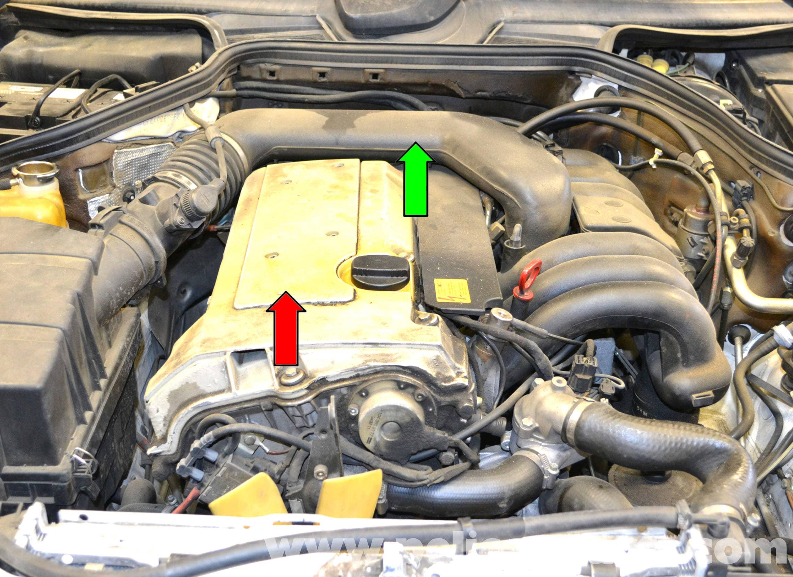 mercedes e320 engine diagram