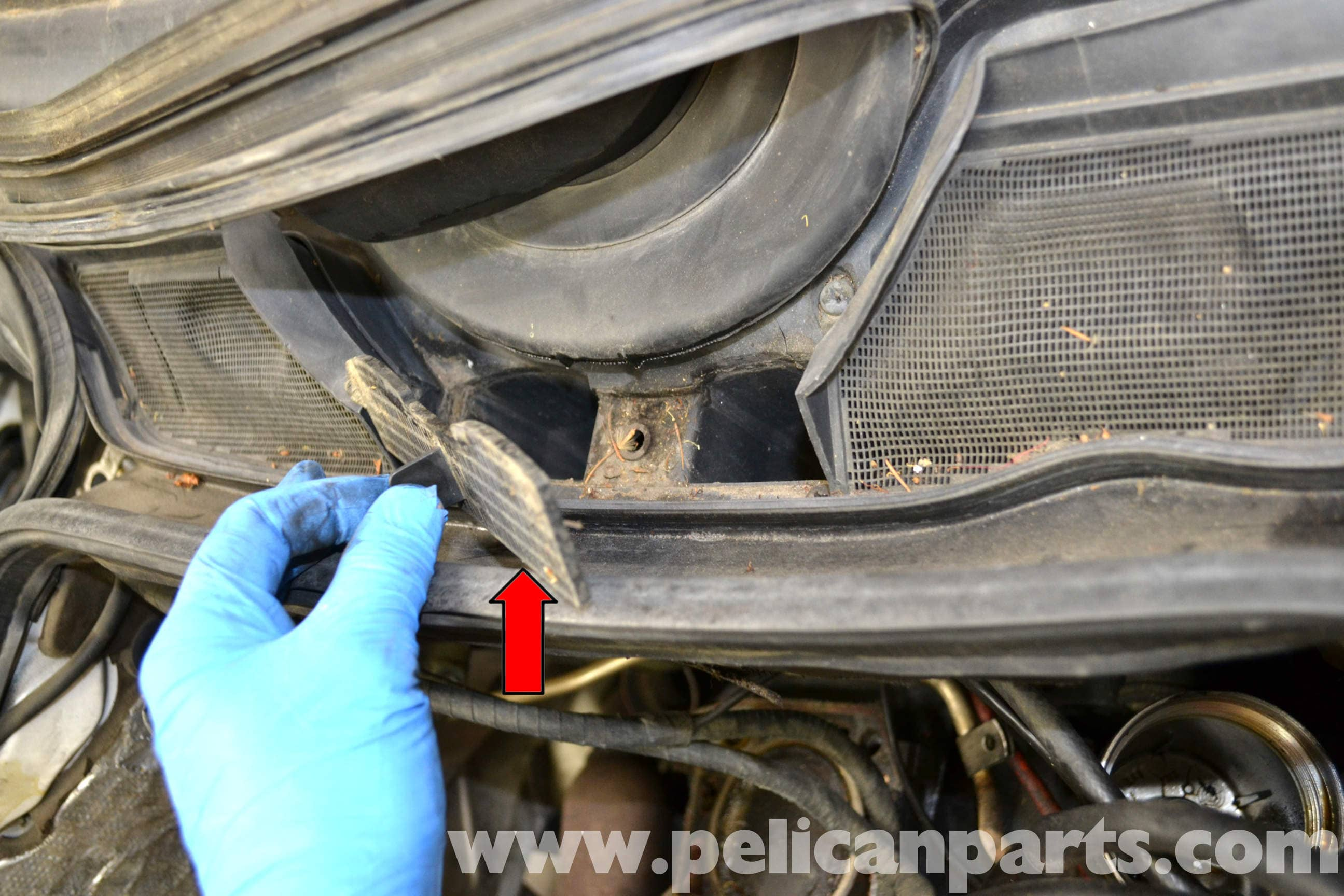 Mercedes Benz W124 Mono Post Wiper Repair And Replacement 1986