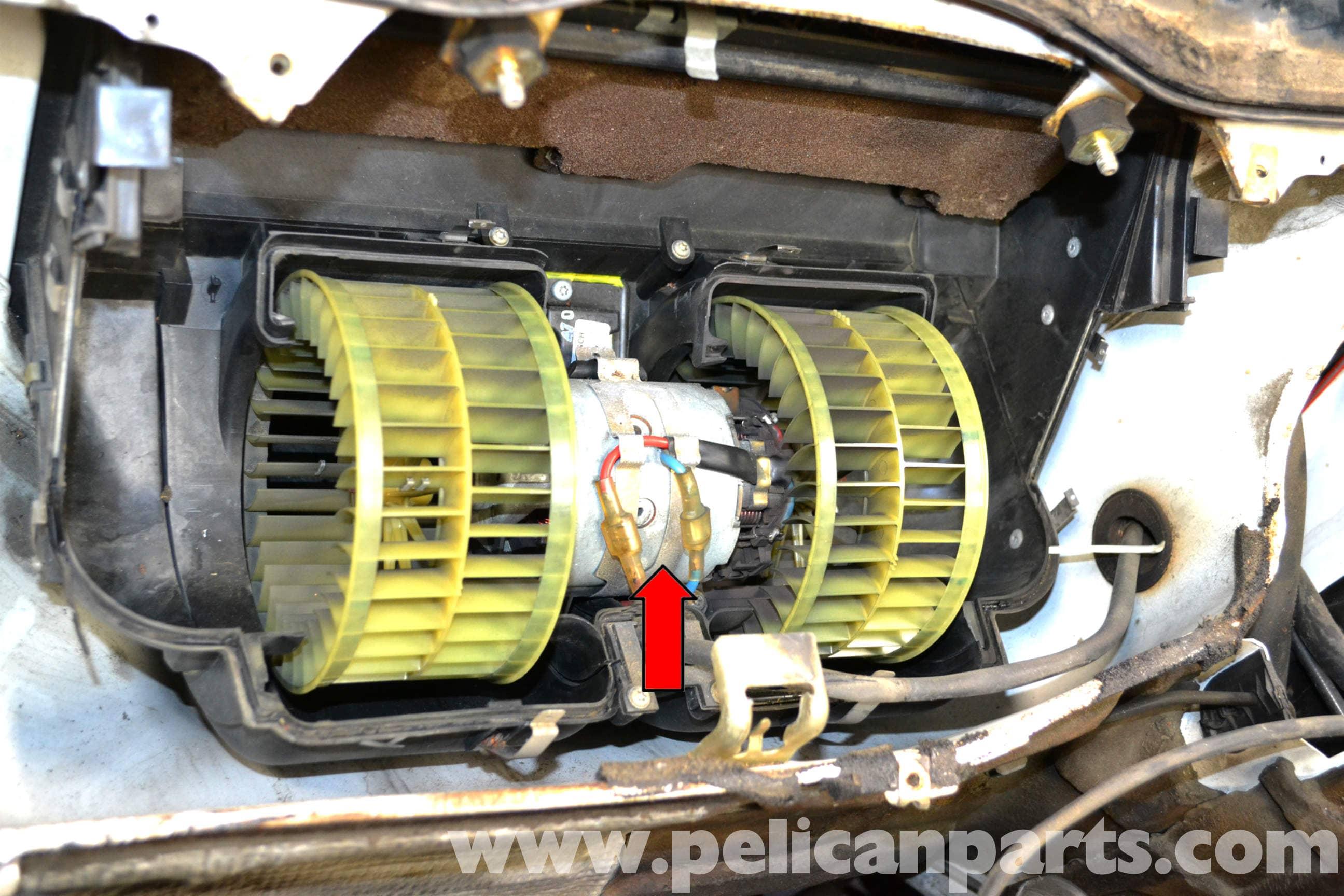 92 E350 Fuse Box Diagram Mercedes Benz W124 Hvac Resistor Replacement 1986 1995 E