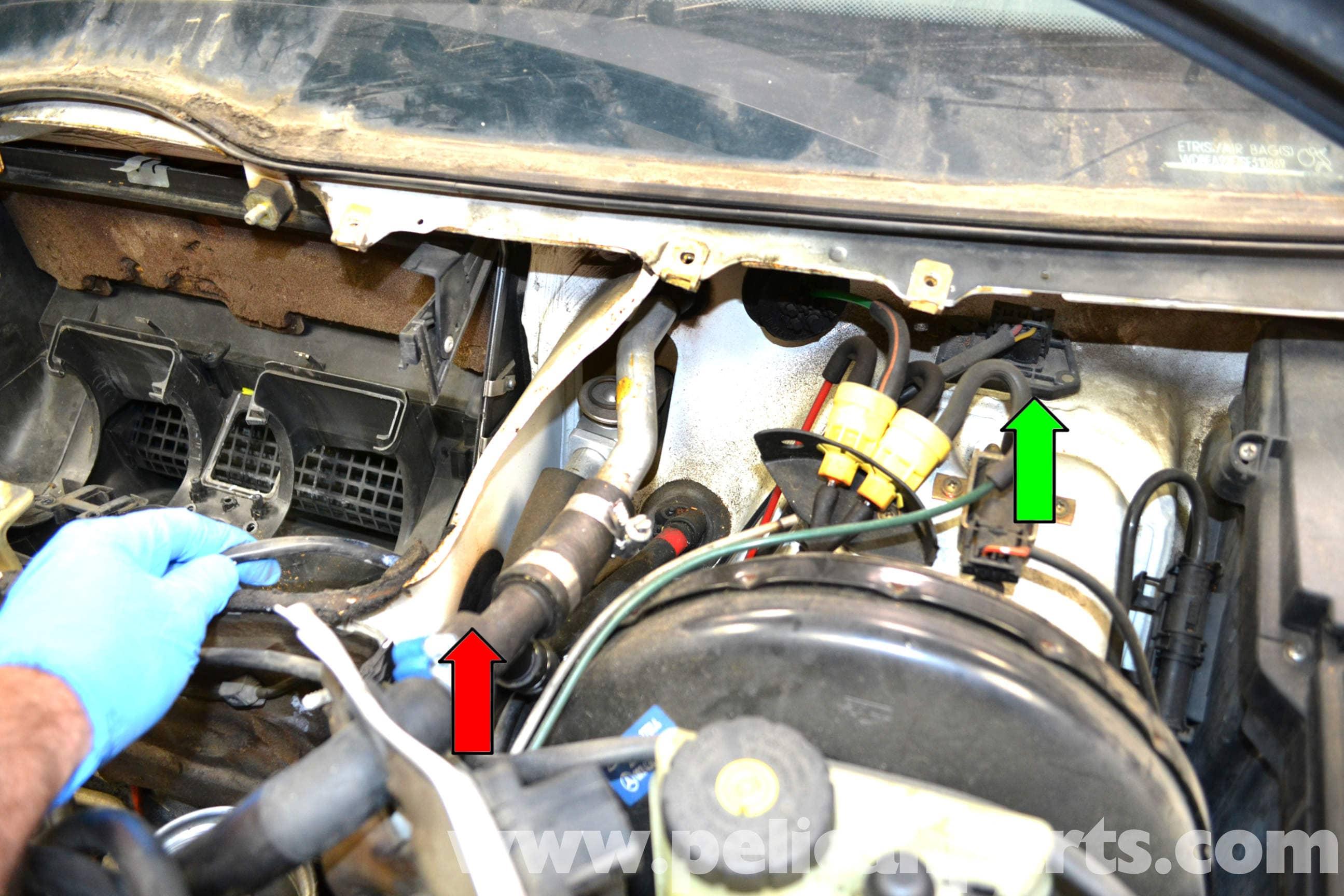 Mercedes Benz 1995 E320 Wiring Diagram Mercedes Benz W124 Hvac Resistor Replacement 1986 1995 E
