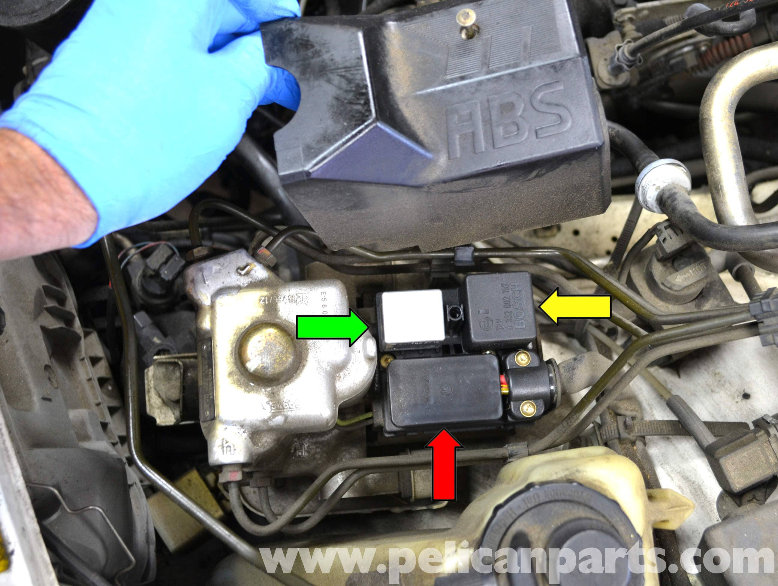 Mercedes Benz W124 ABS Relay And Pump Replacement 1986 1995 E