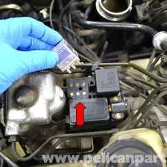 Mercedes W124 Radio Wiring Diagram 2001 Gmc Sierra Mercedes-benz Abs Relay And Pump Replacement | 1986-1995 E-class Pelican Parts Diy ...