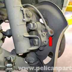 Mercedes W124 Abs Wiring Diagram 81 Virago Benz Wheel Speed Sensor Replacement