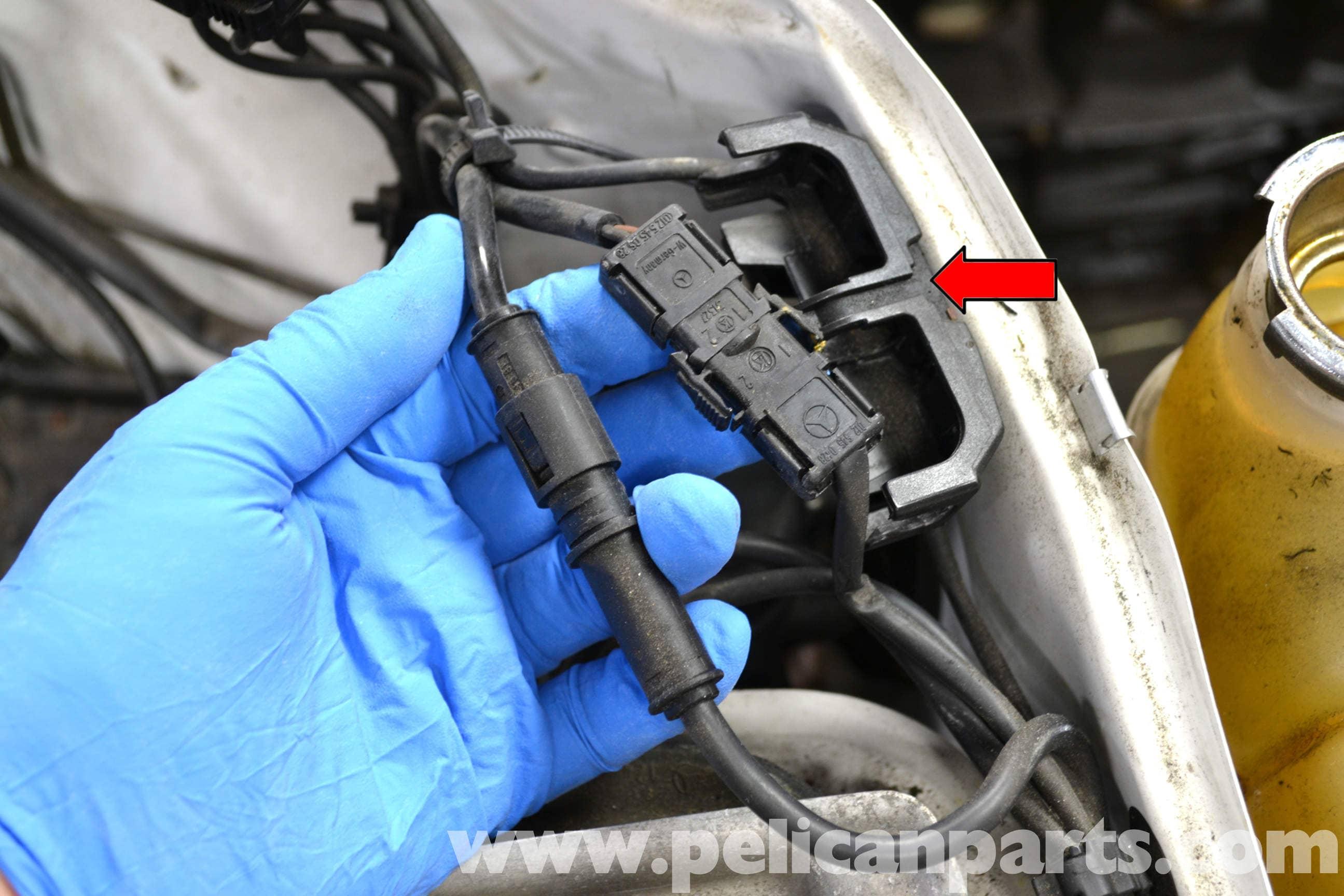 mercedes w124 abs wiring diagram porsche 944 sunroof benz wheel speed sensor replacement