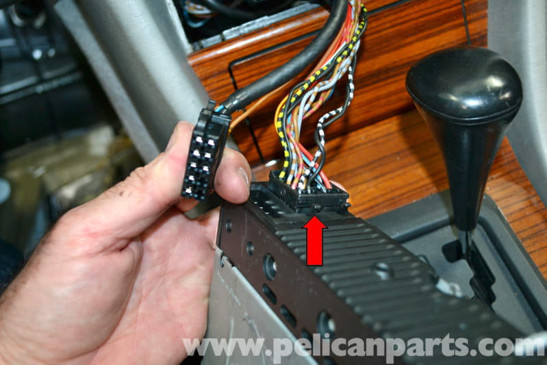 For Car Stereo Installation Wiring Diagram Mercedes Benz W124 Radio Removal 1986 1995 E Class