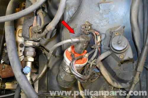 small resolution of mercedes benz w126 ignition wires rotor and distributor cap large image w126 idle control wiring diagram
