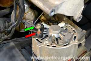MercedesBenz W126 Alternator Replacement   19811991 S