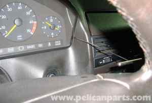 MercedesBenz R129 Instrument Cluster Bulk Removal  SL500