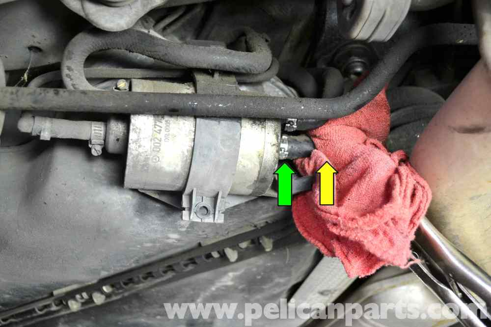 medium resolution of mercedes benz w203 fuel filter replacement 2001 2007 c230 c280
