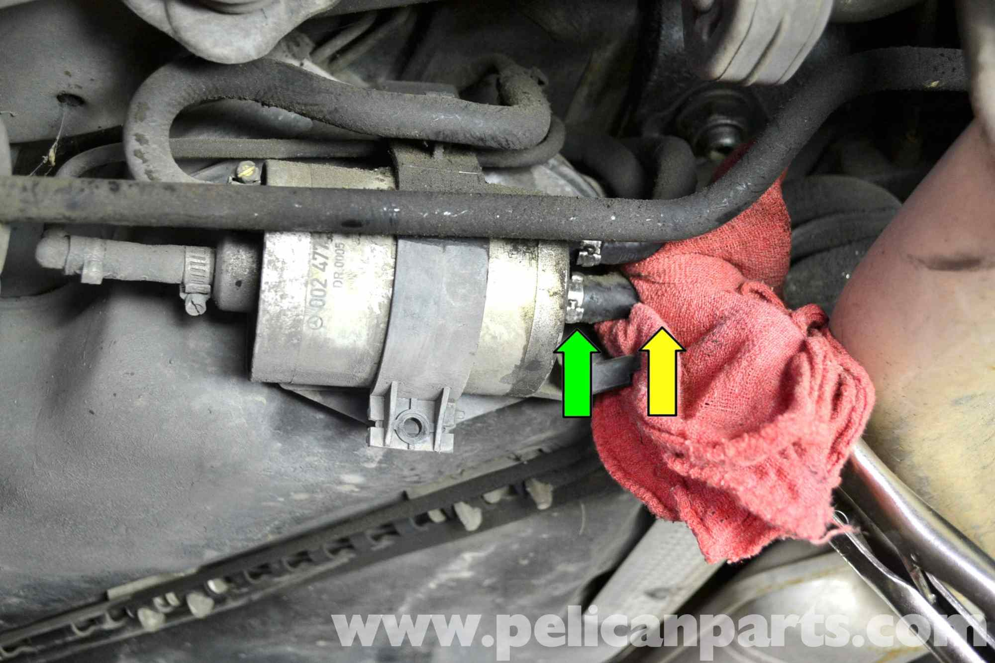 hight resolution of mercedes benz w203 fuel filter replacement 2001 2007 c230 c280