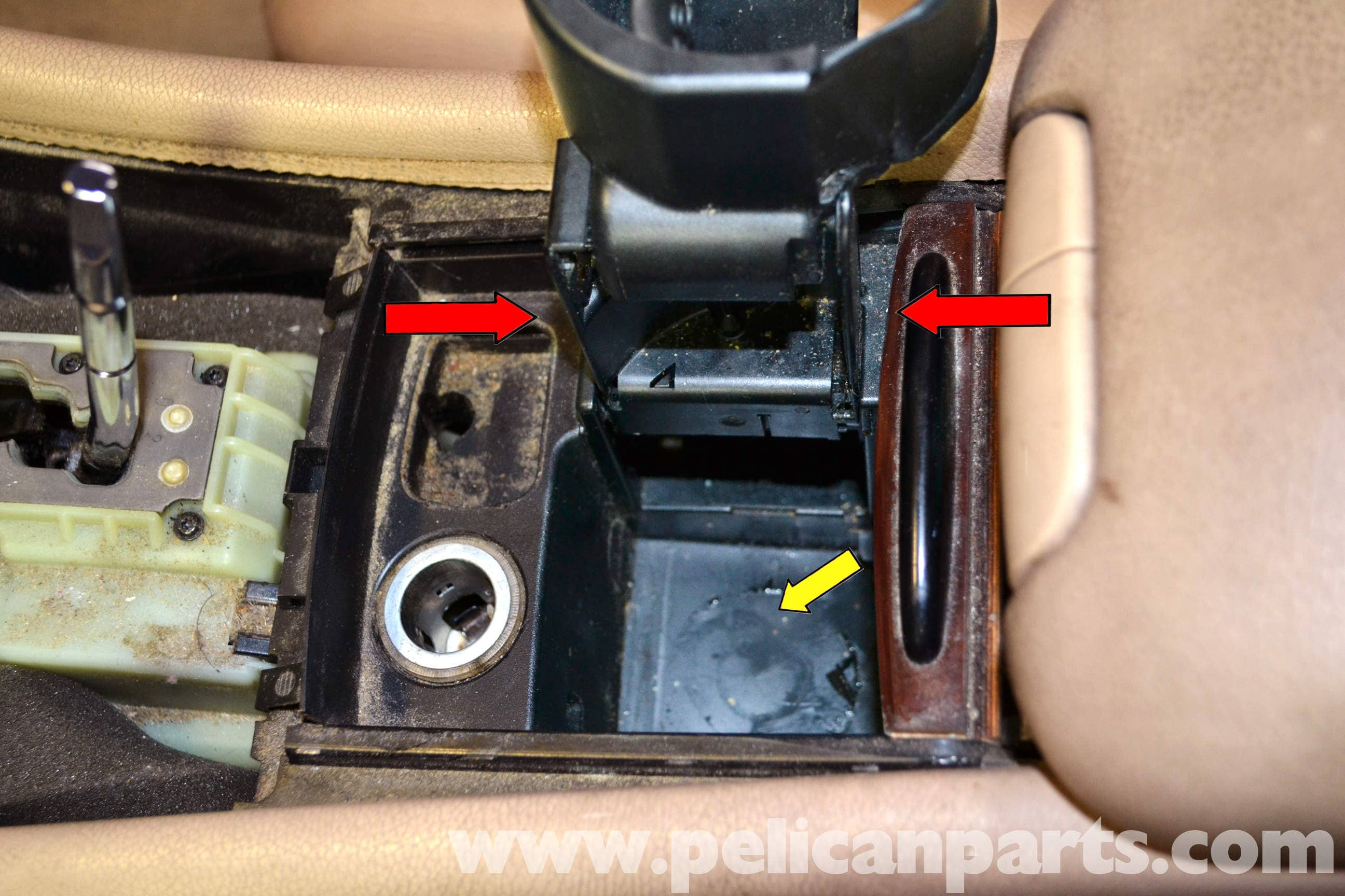 4 Way Slide Switch Wiring Diagram Mercedes Benz W203 Cup Holder Cover Removal 2001 2007