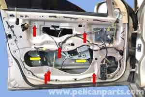MercedesBenz W203 Front Window Regulator Replacement  (20012007) C230, C280, C350, C240, C320