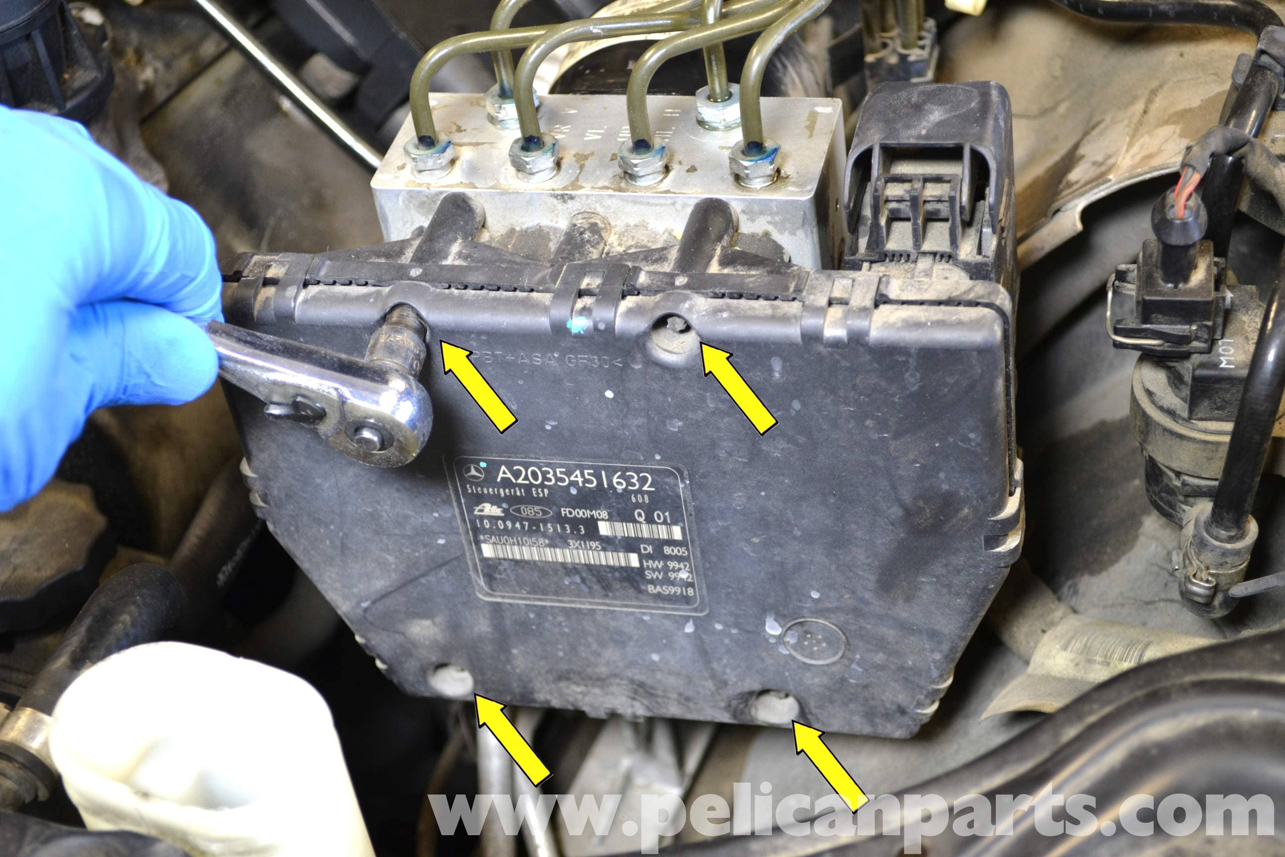 mercedes w124 abs wiring diagram thermo switch benz w203 control module replacement 2001