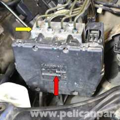 1992 Chevy S10 Radio Wiring Diagram Toenail Anatomy Mercedes-benz W203 Abs Control Module Replacement - (2001-2007) C230, C280, C350, C240, C320 ...