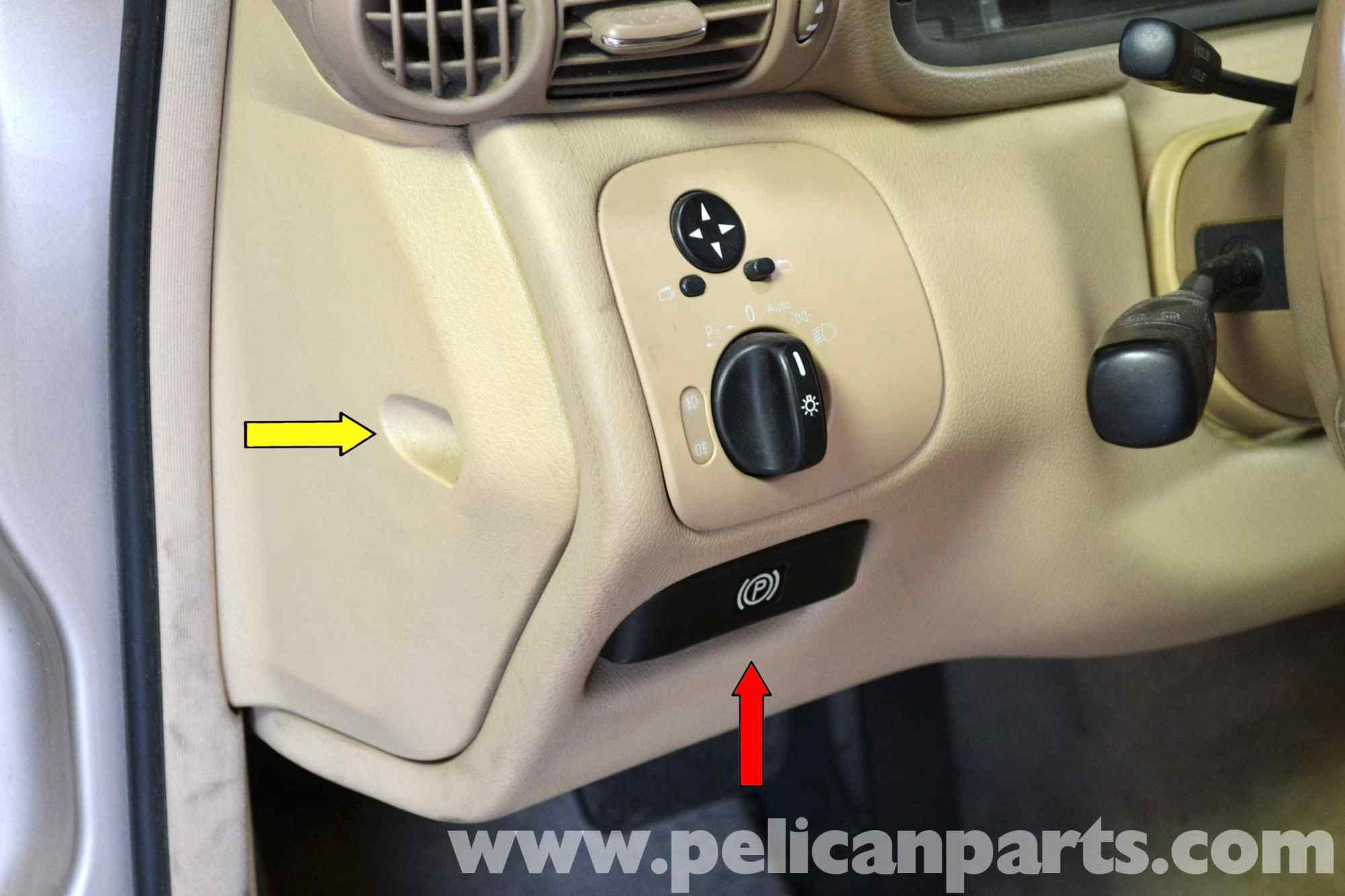 hight resolution of pic01 mercedes benz w203 light switch replacement 2001 2007 c230 toyota corolla wiring harness