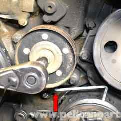 4 Pin Cdi Wiring Diagram Toyota 4runner Trailer Mercedes-benz W203 Belt Tensioner Replacement - (2001-2007) C230, C280, C350, C240, C320 ...