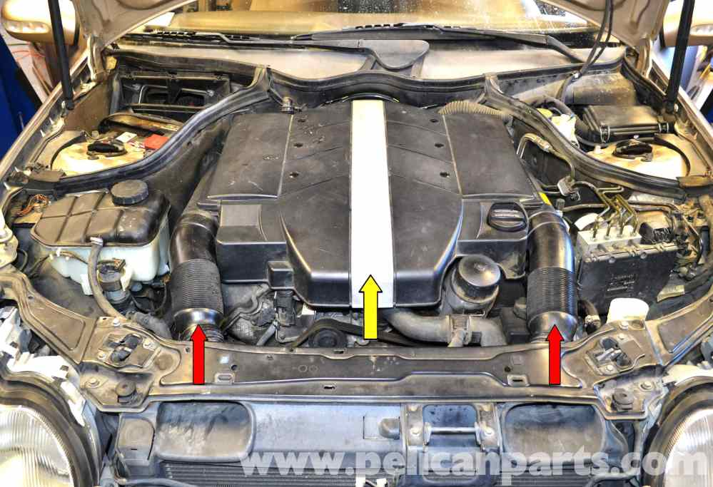 medium resolution of mercedes benz w203 valve cover gasket replacement 2001 2007 c230large image extra large image