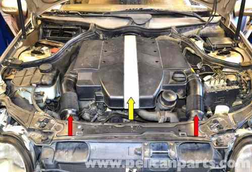 small resolution of mercedes benz w203 valve cover gasket replacement 2001 2007 c230large image extra large image