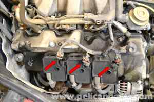 MercedesBenz W203 Valve Cover Gasket Replacement  (2001