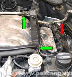pic06 mercedes benz w203 fuel injector replacement 2001 2007 c230 at c240 w203 fuse box  [ 2591 x 1884 Pixel ]
