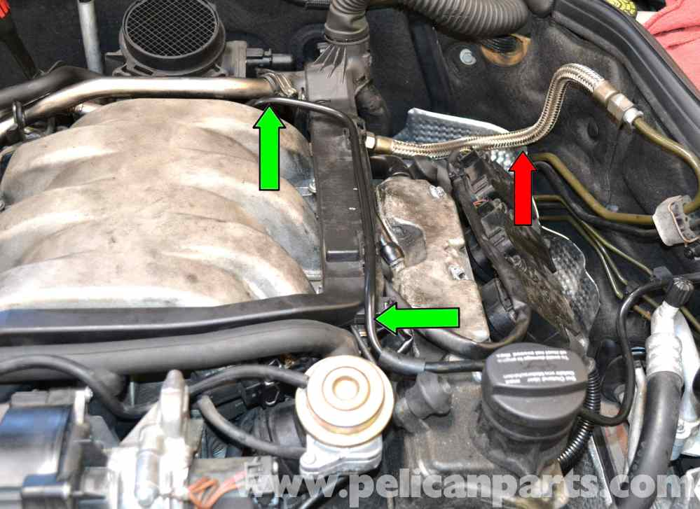 medium resolution of pic06 mercedes benz w203 fuel injector replacement 2001 2007 c230 at