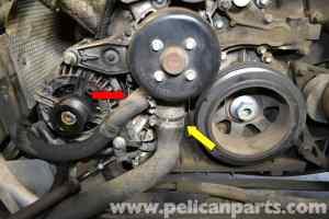 MercedesBenz W203 Radiator Hose Replacement  (20012007) C230, C280, C350, C240, C320