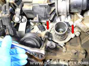 MercedesBenz W203 Thermostat Replacement  (20012007