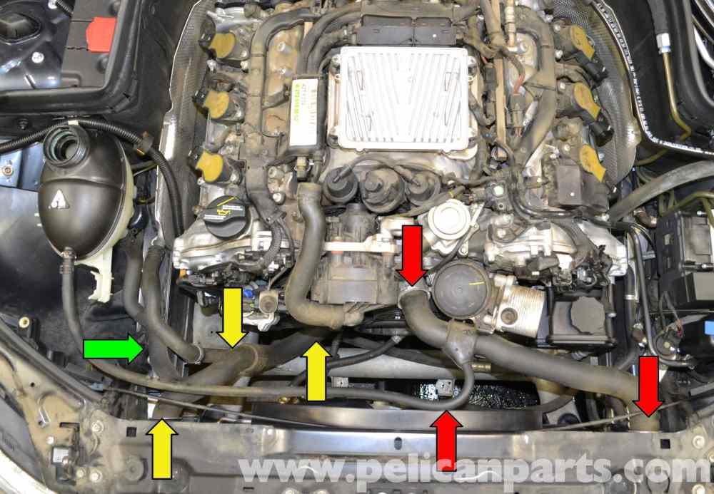 medium resolution of c300 mercedes engine coolant diagram simple wiring diagrams rh 7 studio011 de 2004 c230 kompressor mercedes c230 engine emissions system diagram