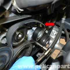 Class 5 Switch Diagram 3 Way Wiring Australia Mercedes-benz W204 Drive Belt Replacement - (2008-2014) C250, C300, C350   Pelican Parts Diy ...