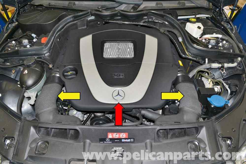 medium resolution of mercedes benz w204 camshaft position sensor replacement 2008 2014 mercedes engine fault codes list on mercedes c cl engine diagrams