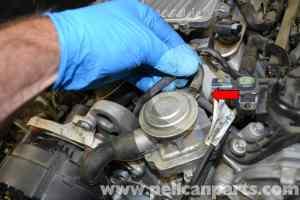 MercedesBenz W204 Air Pump Check Valve Replacement  (20082014) C250, C300, C350   Pelican