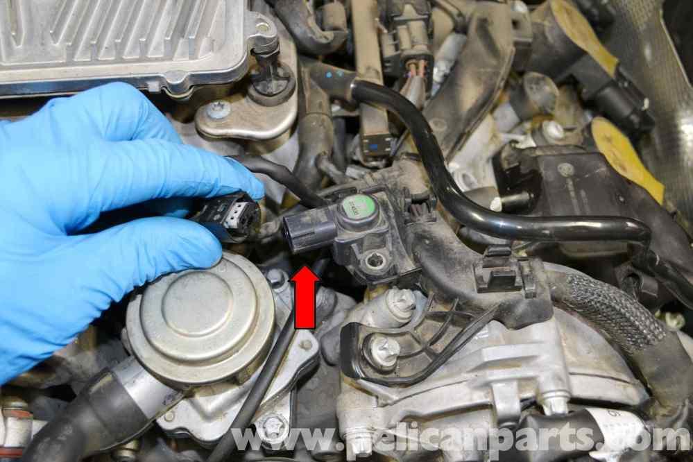 medium resolution of mercedes benz w204 map sensor replacement 2008 2014 c250 c300 pic03 43 engine map