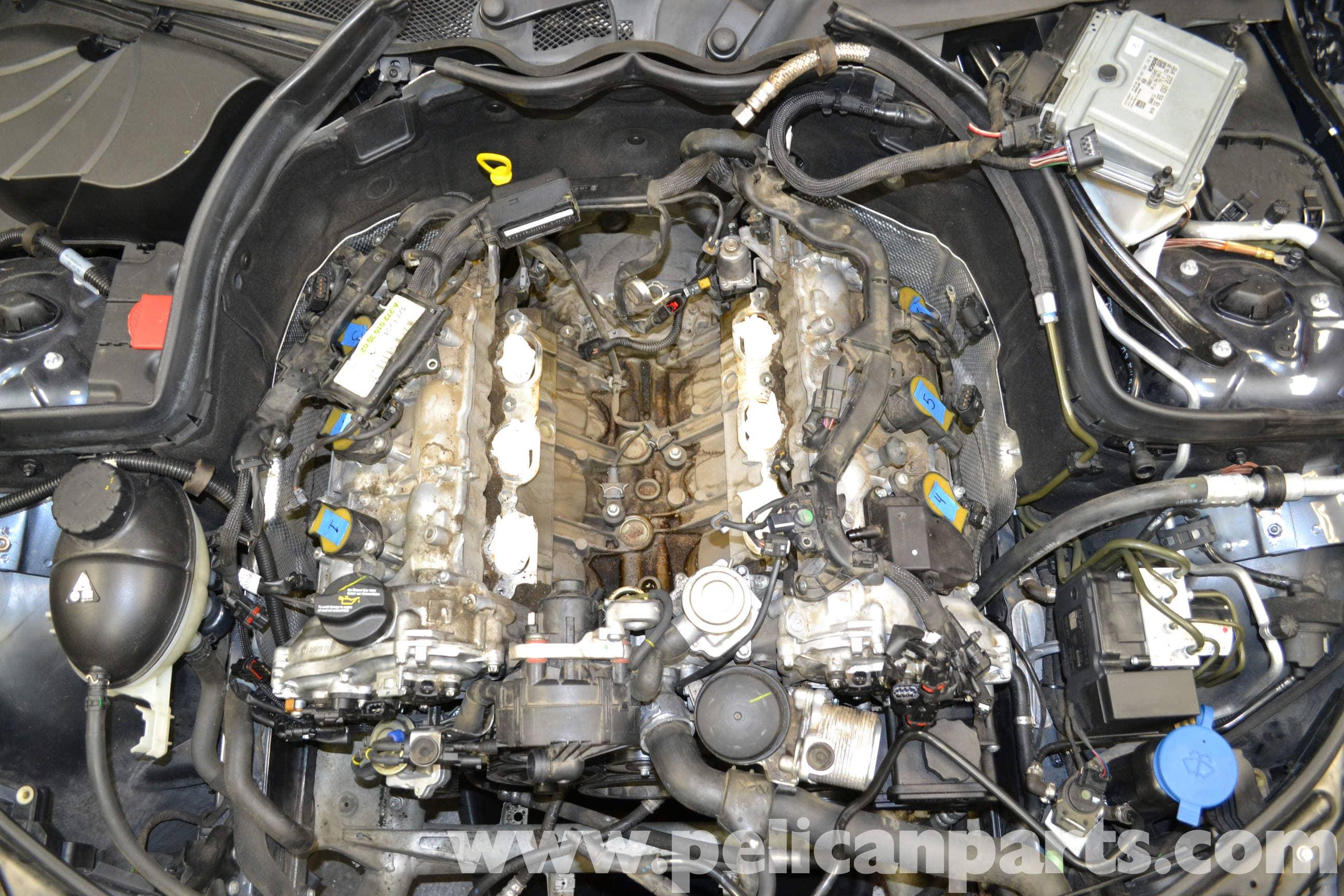 2008 E350 Wiring Diagram Mercedes Benz W204 Knock Sensors Replacement 2008 2014