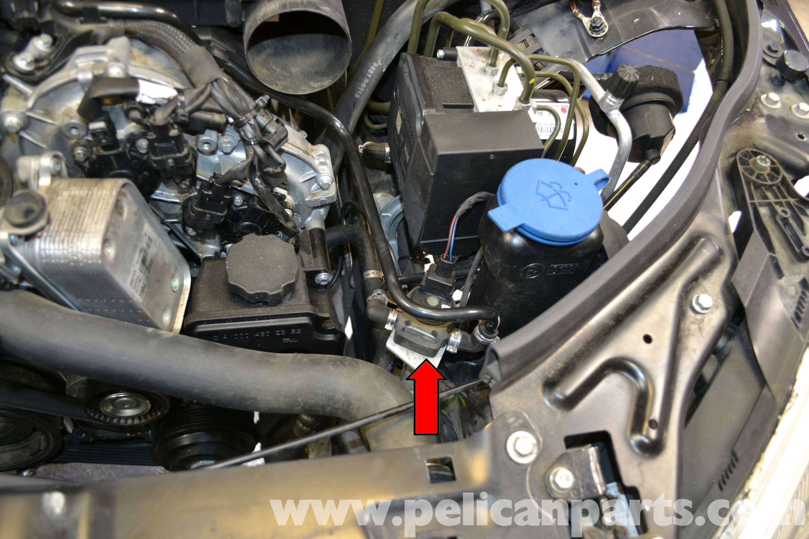 Wiring Diagram Mercedes Benz W204 Purge Valve Replacement 2008 2014
