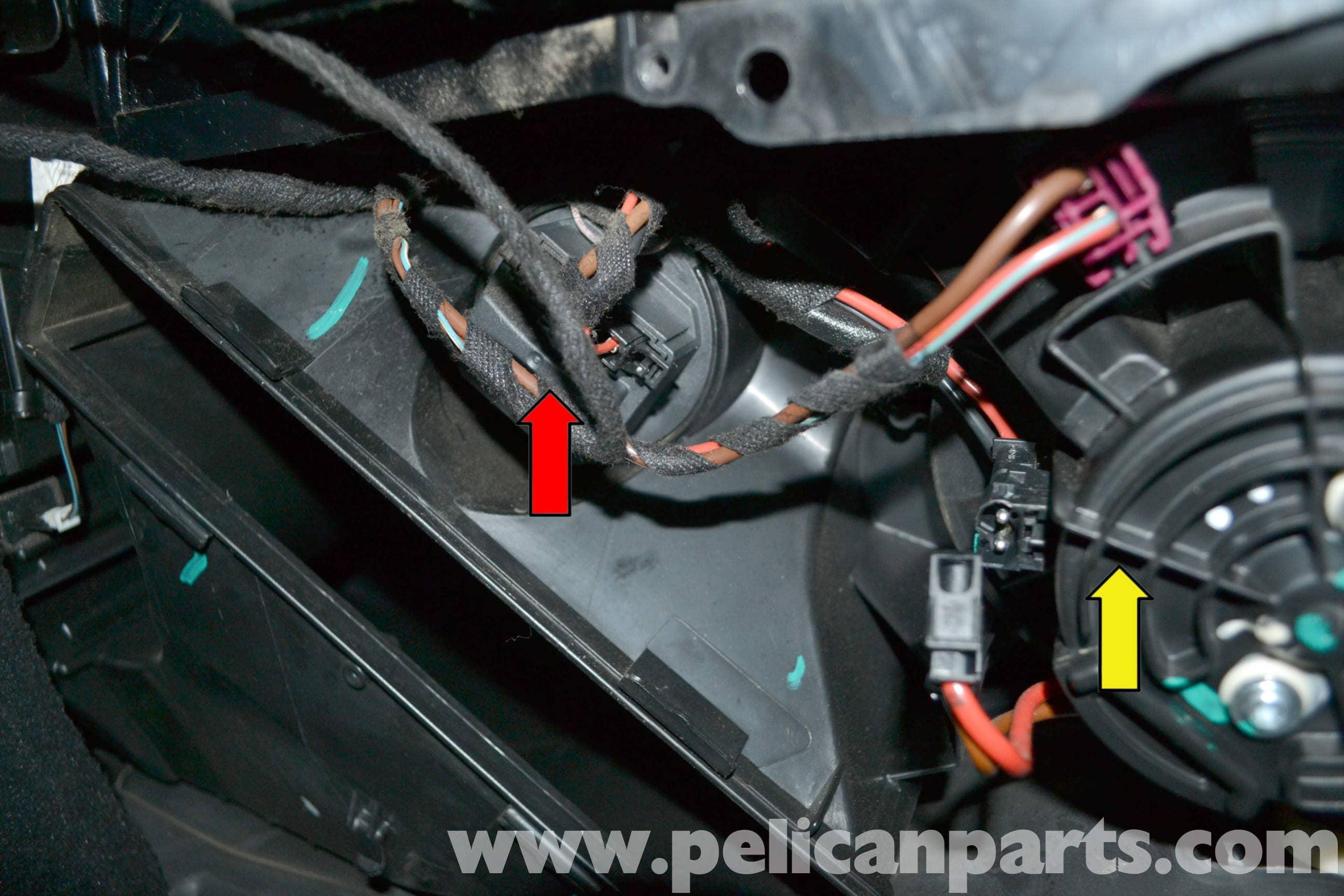 2008 E350 Wiring Diagram Mercedes Benz W204 Blower Motor Resistor Replacement