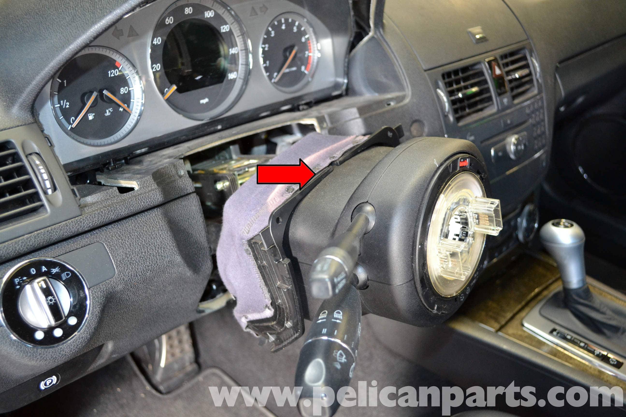 2013 Mercedes Benz C250 Coupe Fuse Box Diagram Mercedes Benz W204 Steering Column Switch Tube Module