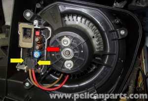 MercedesBenz W211 Blower Motor Testing (20032009) E320, E500, E55 | Pelican Parts DIY