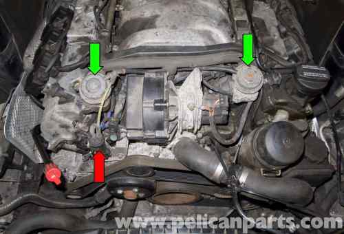 small resolution of mercedes benz w211 secondary air system component testing 2003 mercedes c230 fuse panel 2003 mercedes c230