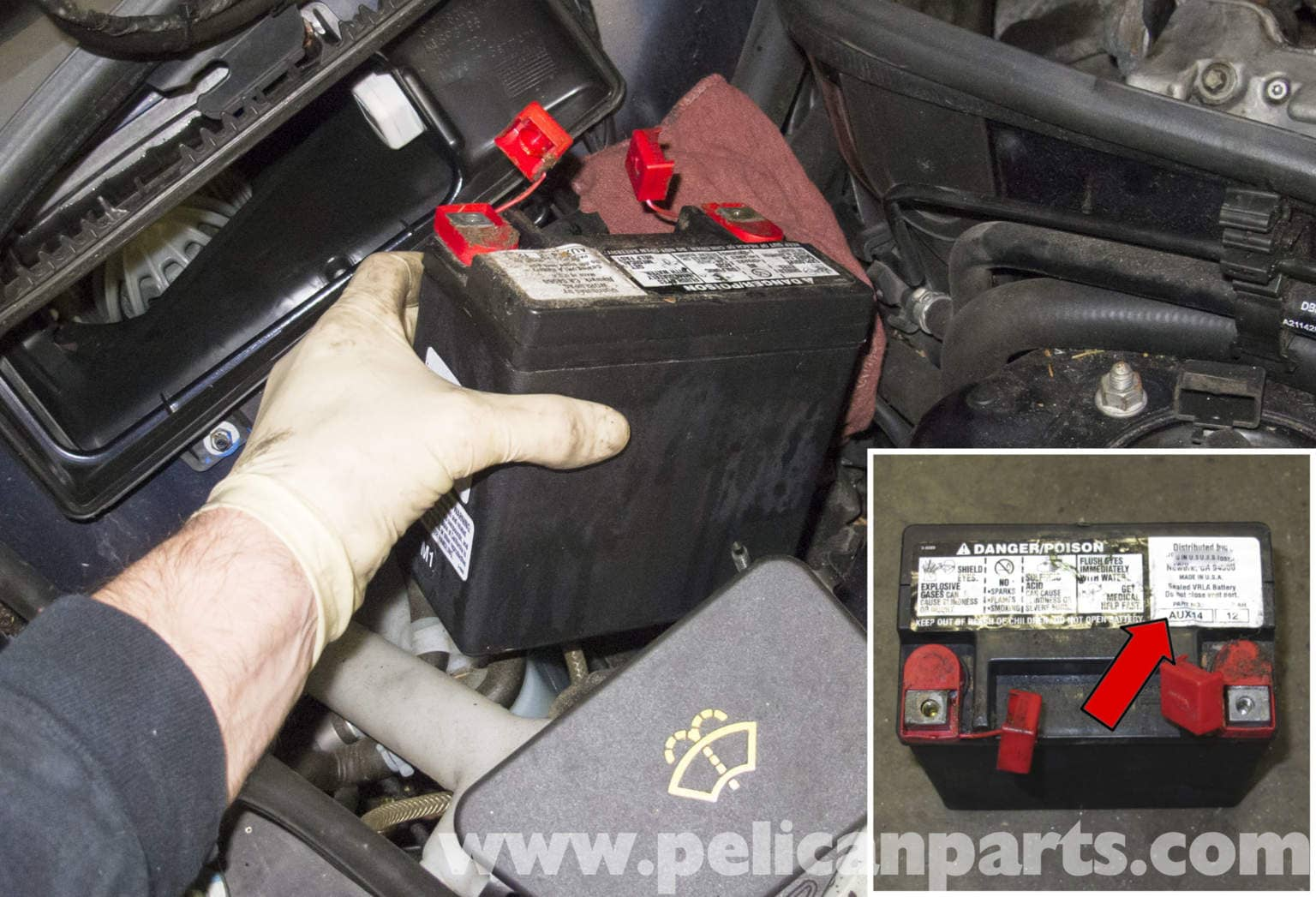 Battery Mercedes S550 Auxiliary Benz 2009