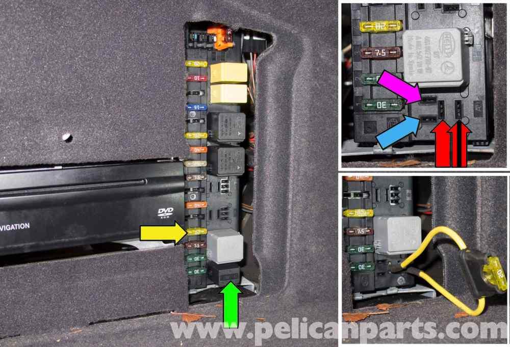 medium resolution of mercedes benz w211 fuel pump testing 2003 2009 e320 pelican electronic eye circuit diagram as well mercedes fuel pump relay
