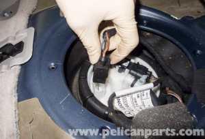 MercedesBenz W211 Fuel Filter Replacement (20032009) E320 | Pelican Parts DIY Maintenance Article